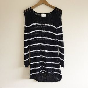 Cotton On Open Knit Striped Sweater